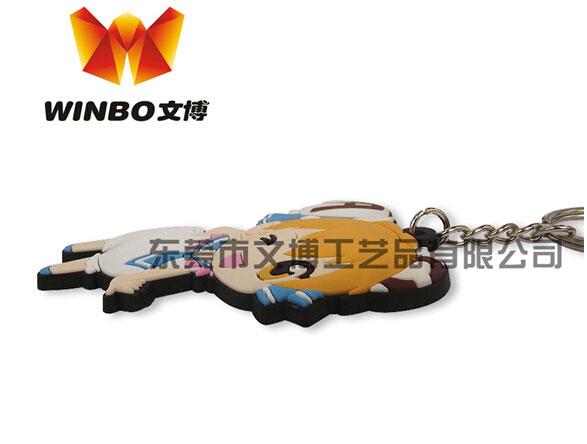 东莞PVC钥匙扣定制批发