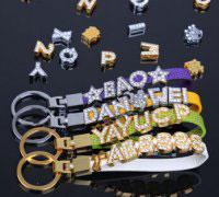 金属情侣挂扣,钥匙装饰品