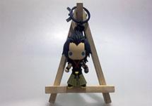 日本公仔3D立体PVC钥匙扣定制